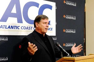 By informing then-Big East officials in 2011 that Louisville would be exiting the conference in 27 months, AD Tom Jurich saved the Cardinals 4 million on their exit fee. They'll join the ACC in 2014.