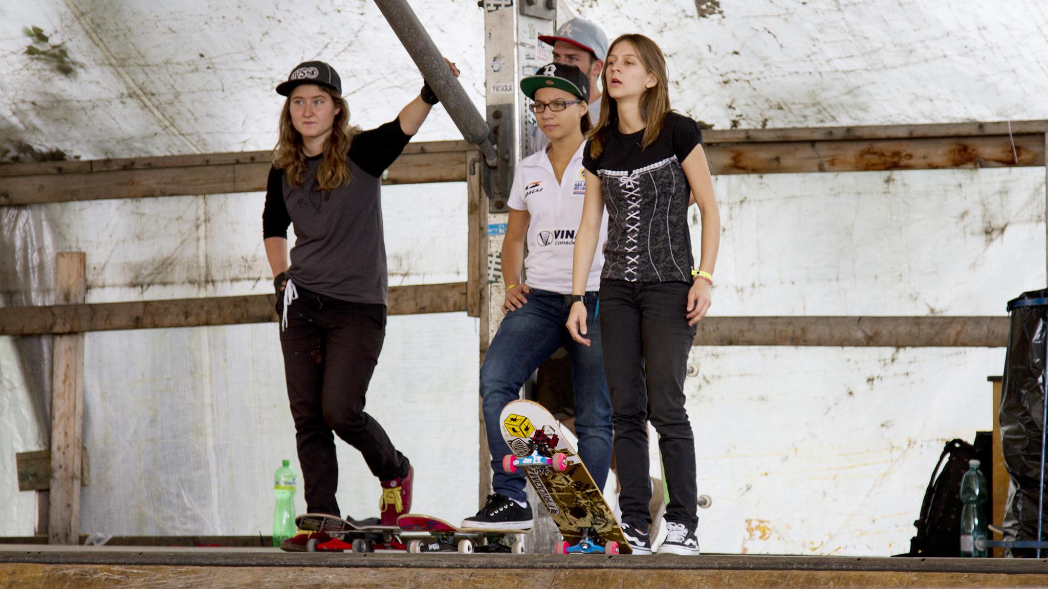 Pmela Rosa e Jessica Florncio