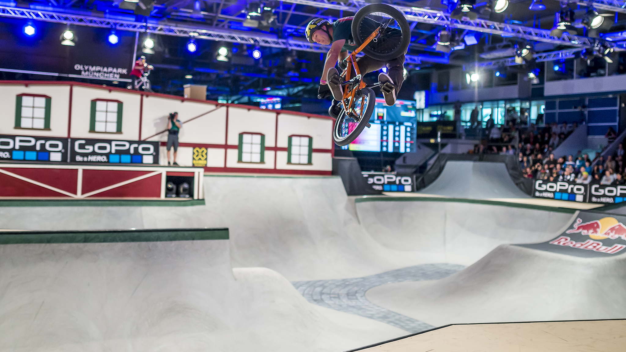 BMX Park moves inside