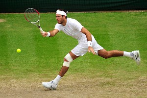 Juan Martin del Potro has been cracking his forehand and serve en route to the semifinals.
