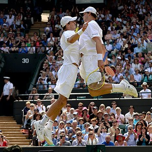The Bryan brothers are one Slam title away from becoming the first Open era team to win all four in a season.