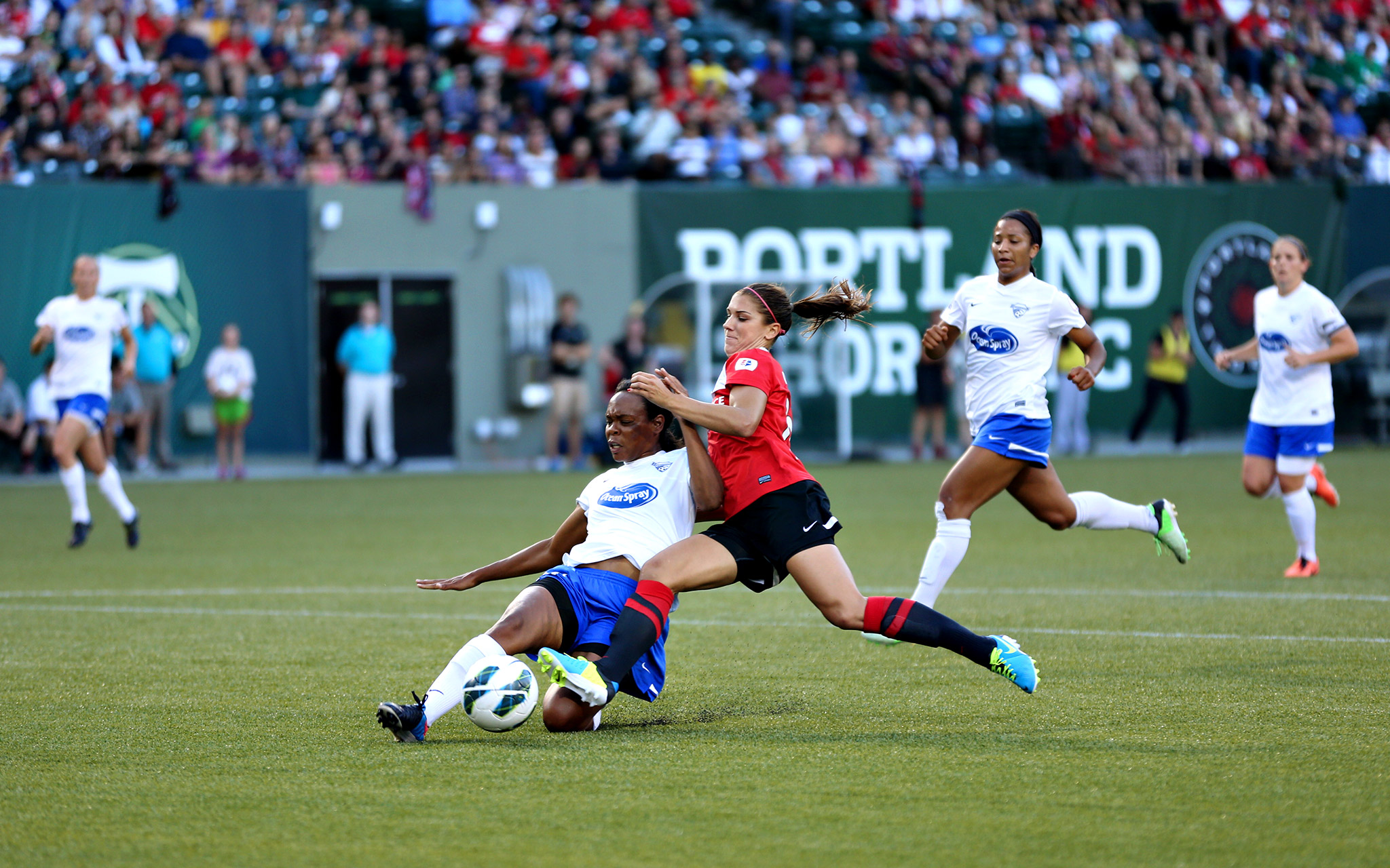 Total Access: Portland Thorns