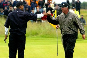 Mark O'Meara, Tiger Woods