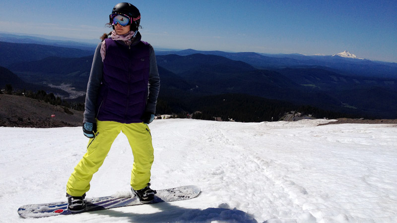 Lindsey Jacobellis is finally back on the snow and feeling like new after two ACL surgeries and extensive rehab.