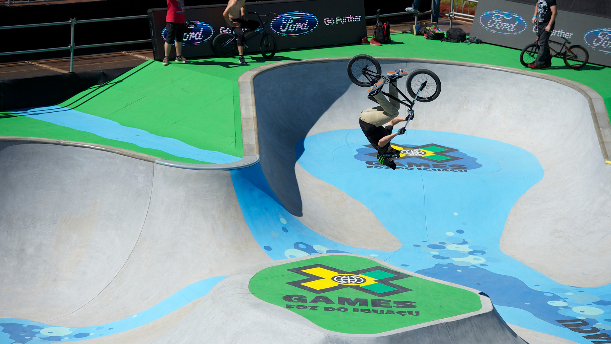 Scotty Cranmer, Foz do Iguau