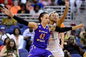 The Mercury's Brittney Griner battled injury during her rookie season, and the top overall draft pick feels she has something to prove during the playoffs.