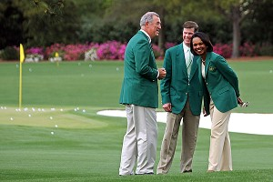 While Augusta has not considered hosting a womens tournament, it did finally allow two female members last year, one of whom was Condoleezza Rice.