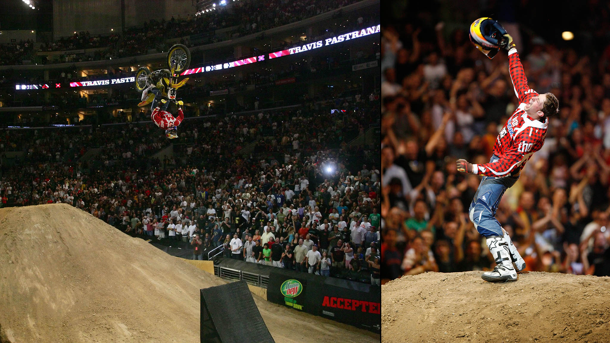 Travis Pastrana's double backflip