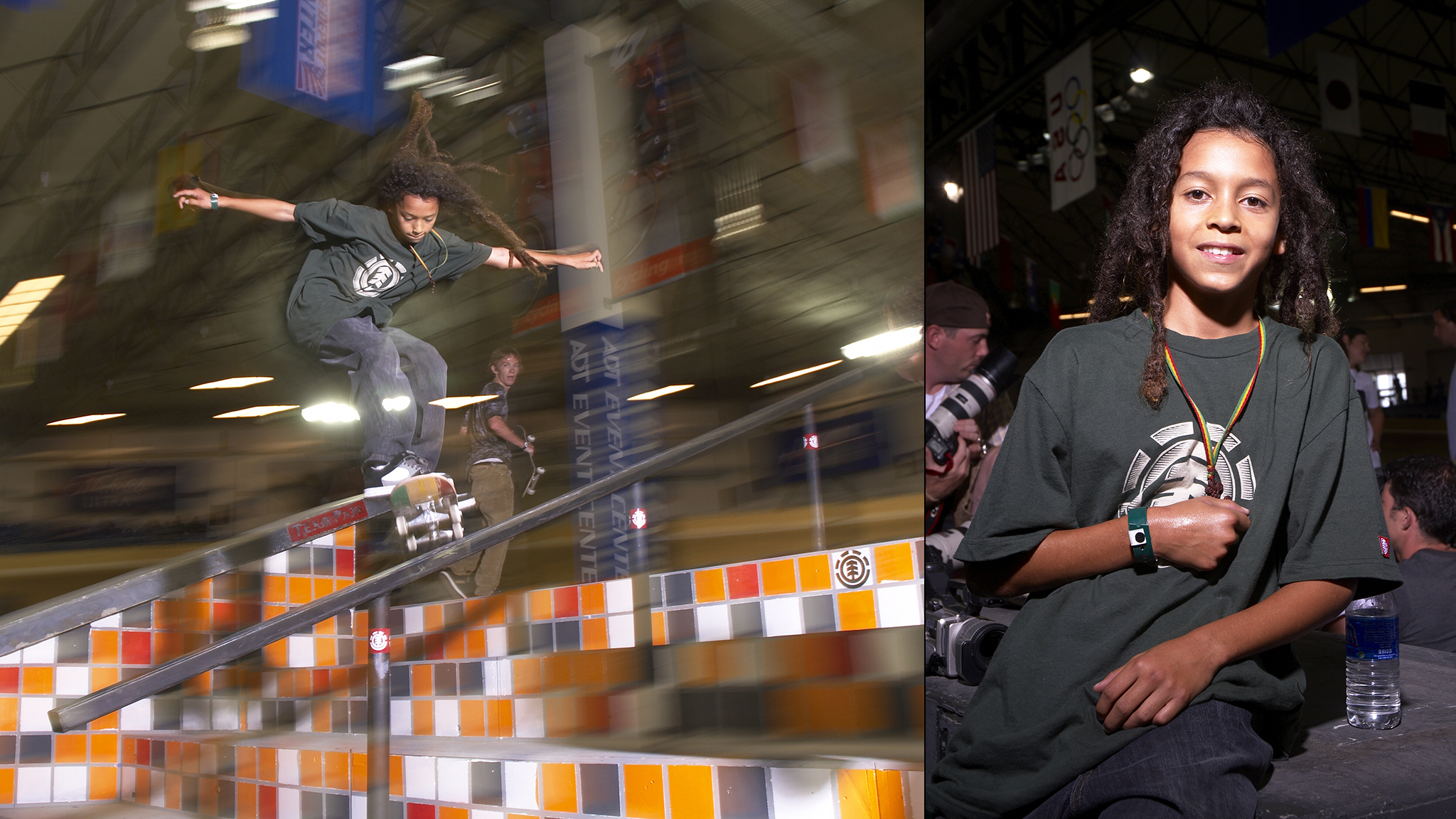 Nyjah Huston makes X Games debut