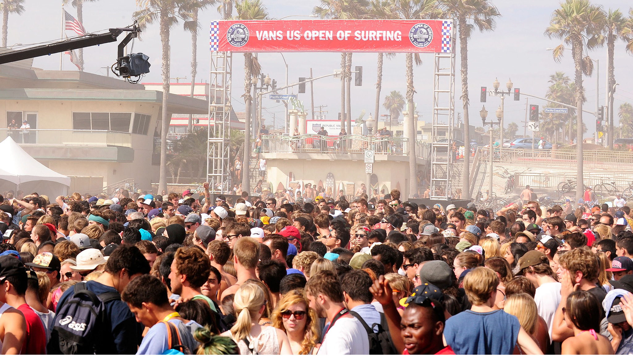 U.S. Open Crowd