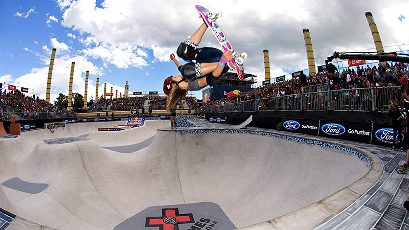 Alana Smith will compete in Womens Skateboard Street in the X Games on Thursday, but usually shes going against the guys.