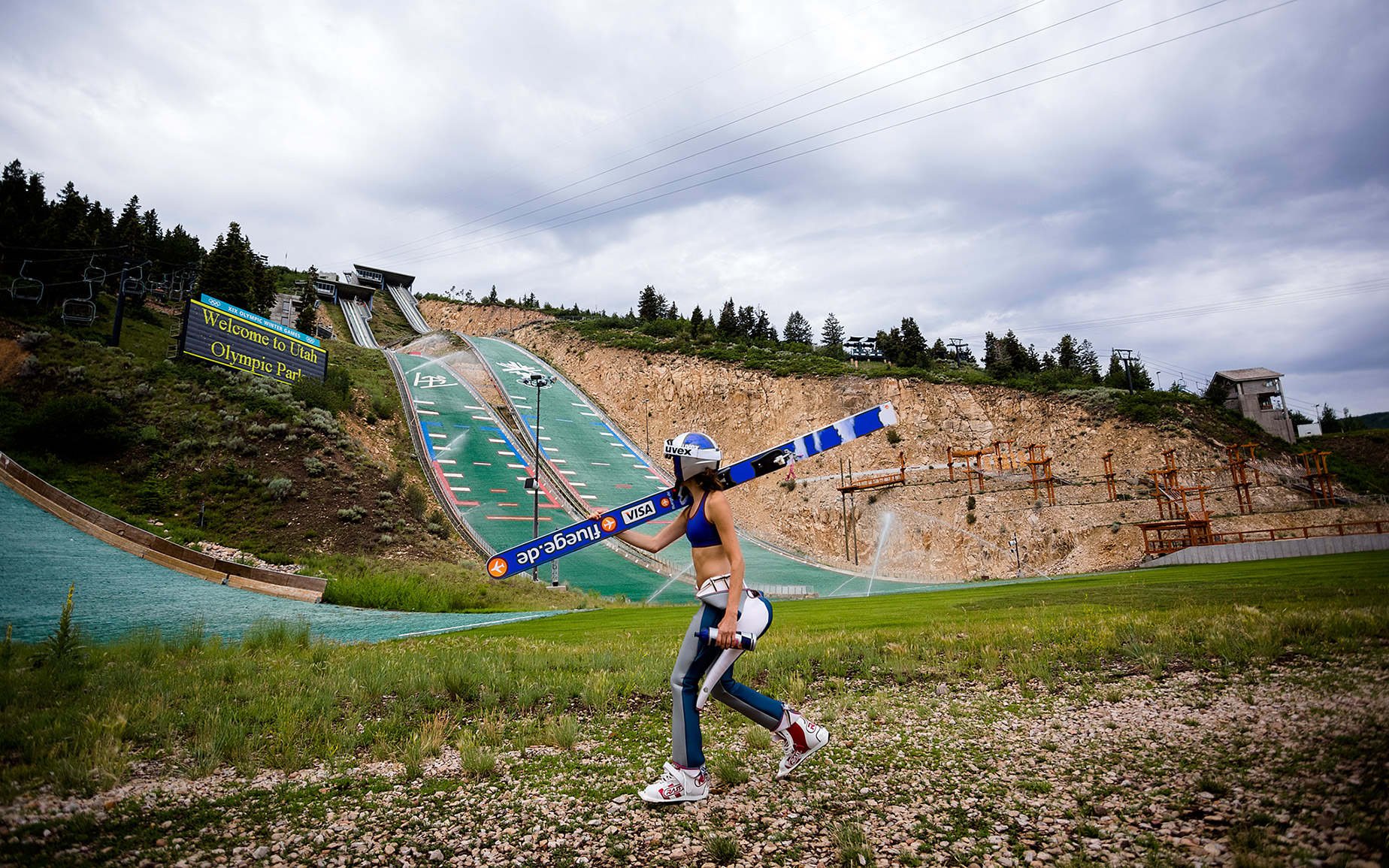 Total Access: U.S. women's ski jumping team