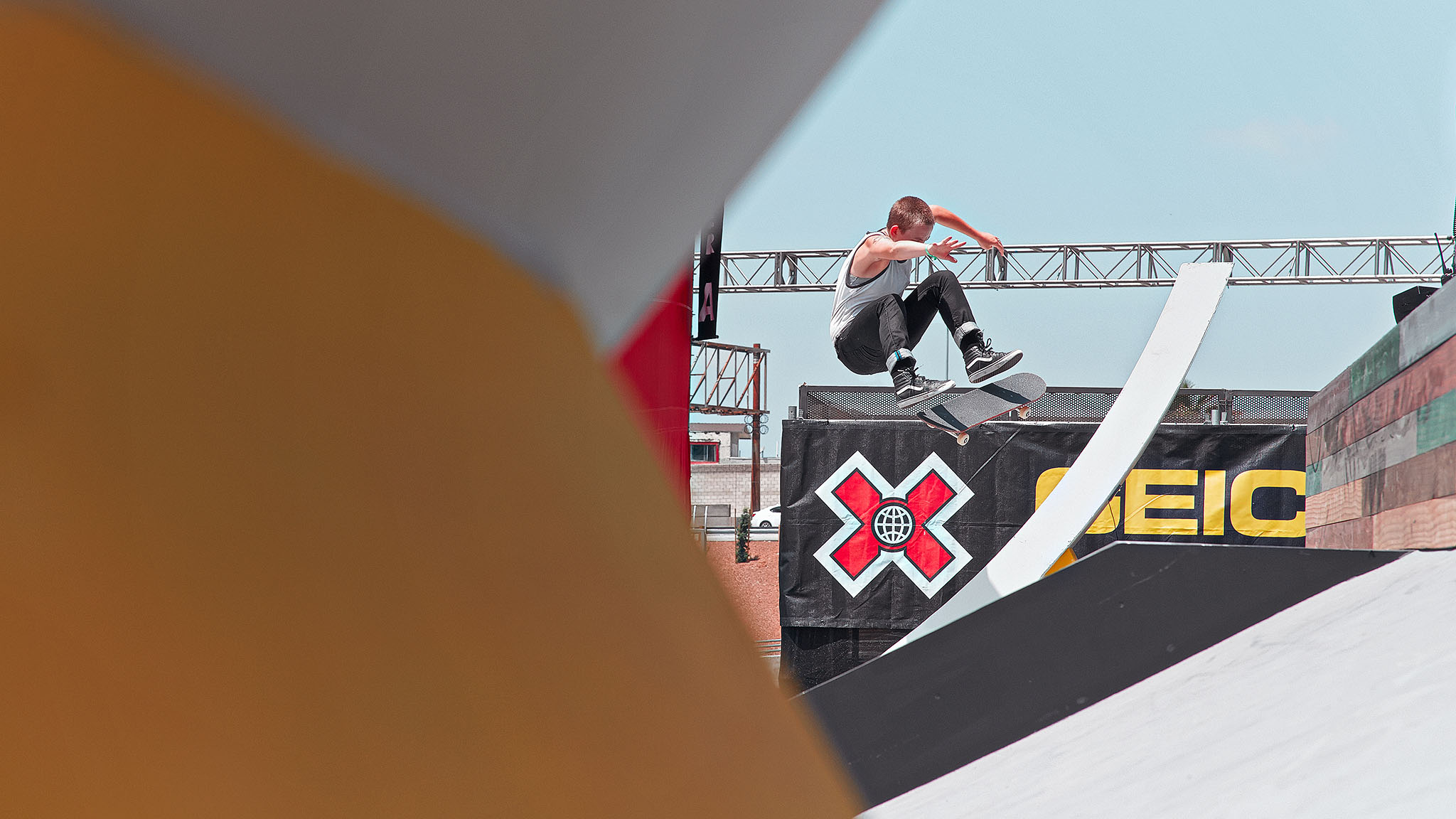 pLacey Baker is proving to be Leticia Bufoni's toughest competition in Women's Skateboard Street, coming in second both at X Games Foz do Iguaçu in April as well as here in Los Angeles on Thursday afternoon./p