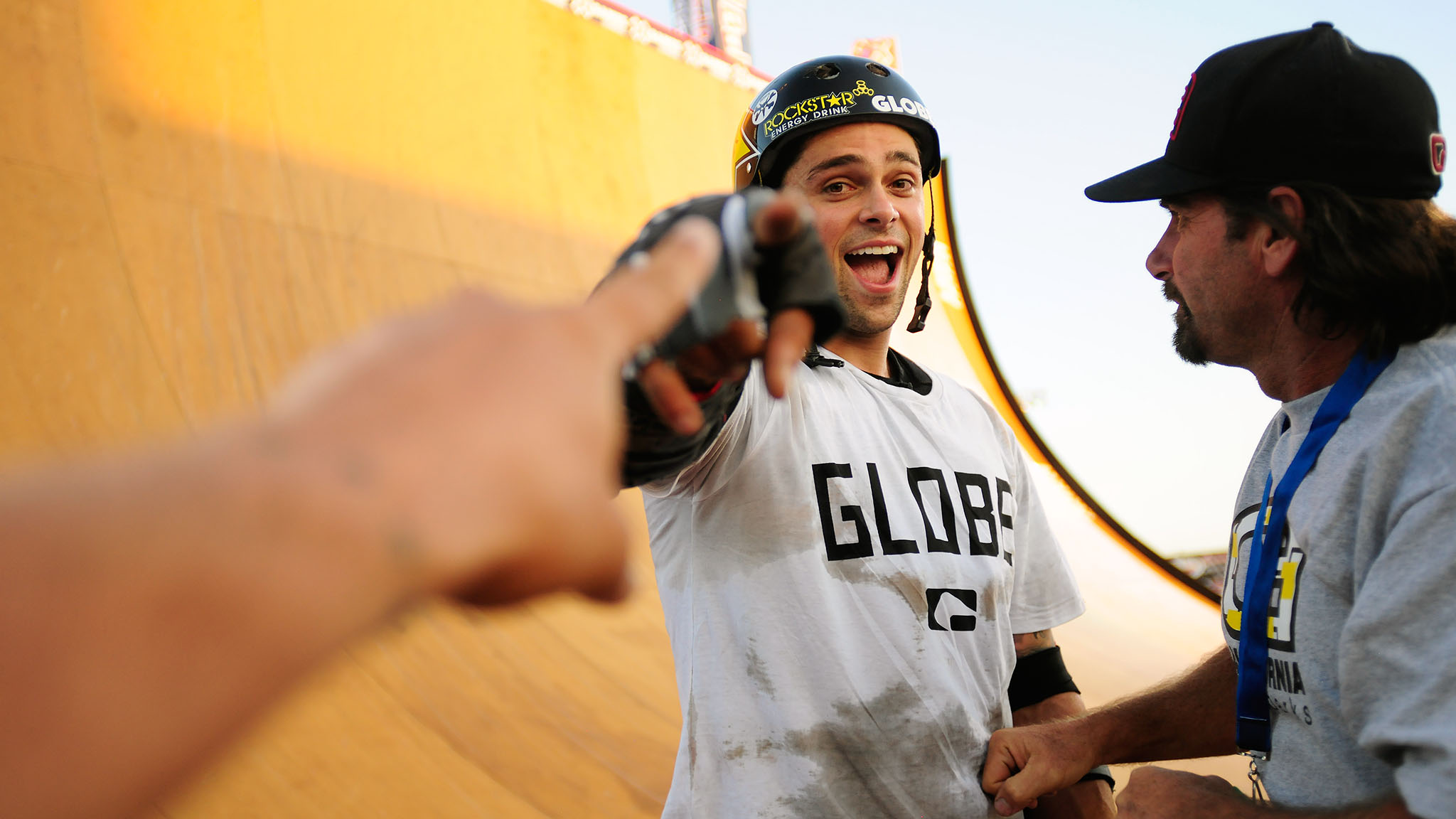 Even though Elliot Sloan has been competing in Skateboard Big Air since 2009, he didn't take home his first medal until X Games Foz do Iguau this past April. The 25-year-old has medaled in every Big Air event in 2013, but none of them were gold -- until Thursday in L.A.