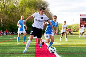 Christine Sinclair thinks women's soccer is taking off in Canada, and that the country could support NWSL teams.