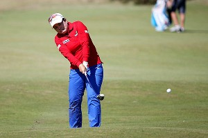Inbee Park, above, is 8 shots back of leader Na Yeon Choi at the Women's British Open.