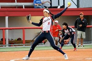 NPF pitcher Cat Osterman.
