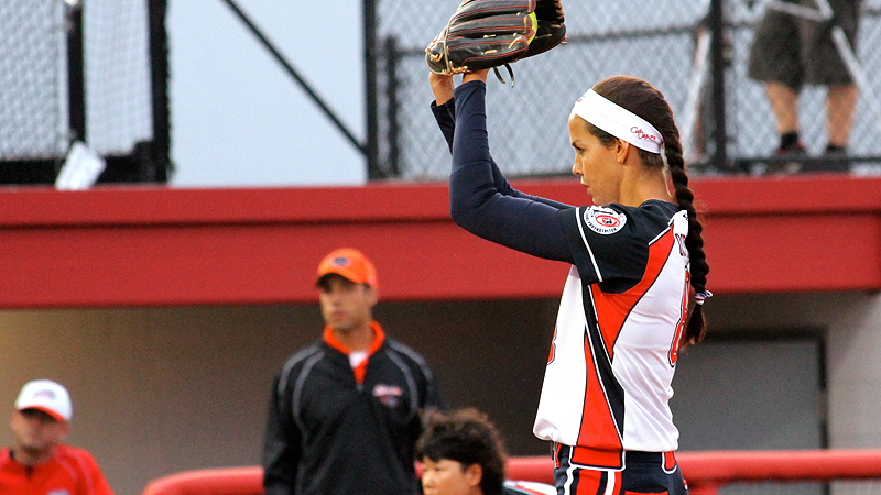 NPF pitcher Cat Osterman