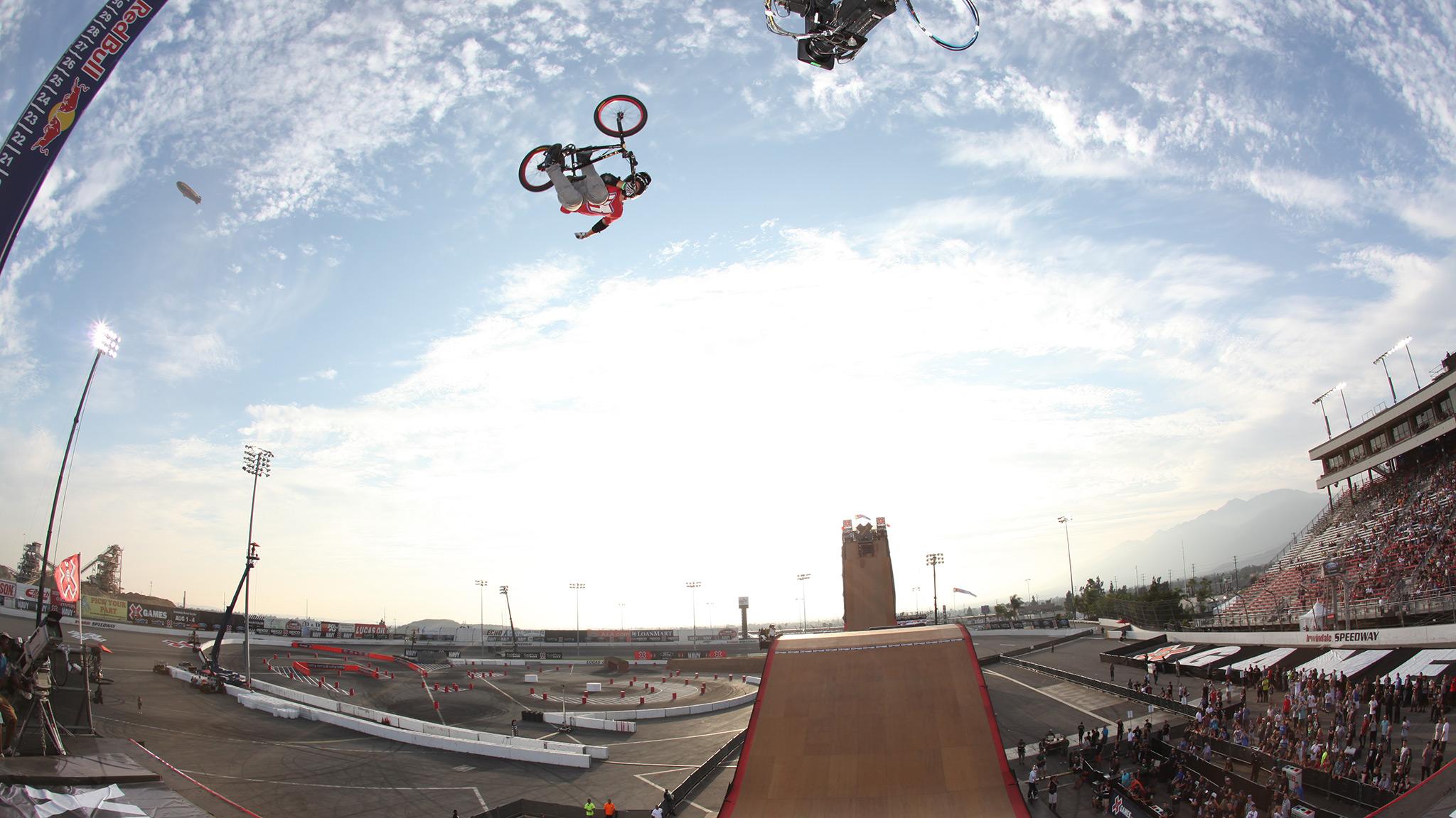 Morgan Wade -- BMX Big Air