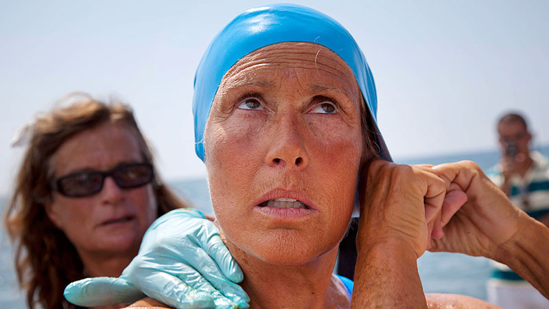 Diana Nyad is attempting a Cuba-to-Florida swim for a fifth -- and possibly last -- time.