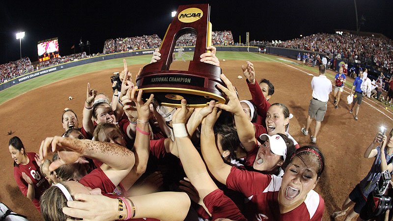 Oklahoma thrilled the Oklahoma City crowd with its win over Tennessee for its second national championship in 2013. With many of their players from the championship team returning, the Sooners look to repeat their win in 2014. With a 64-team field in the NCAA tournament, only eight advance to Oklahoma City for the WCWS, so it's always sure to be a fun week filled with great softball at the ASA Hall of Fame Stadium. (Photo: J.P. Wilson/Icon SMI)