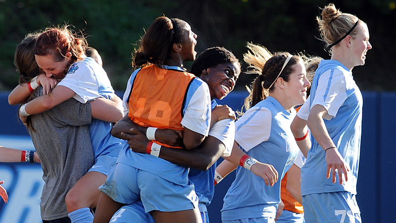 NCAA Women's Soccer: Whether North Carolina will be celebrating again in the College Cup remains to be seen, but don't expect the Tar Heels to lose four games in the regular season again.