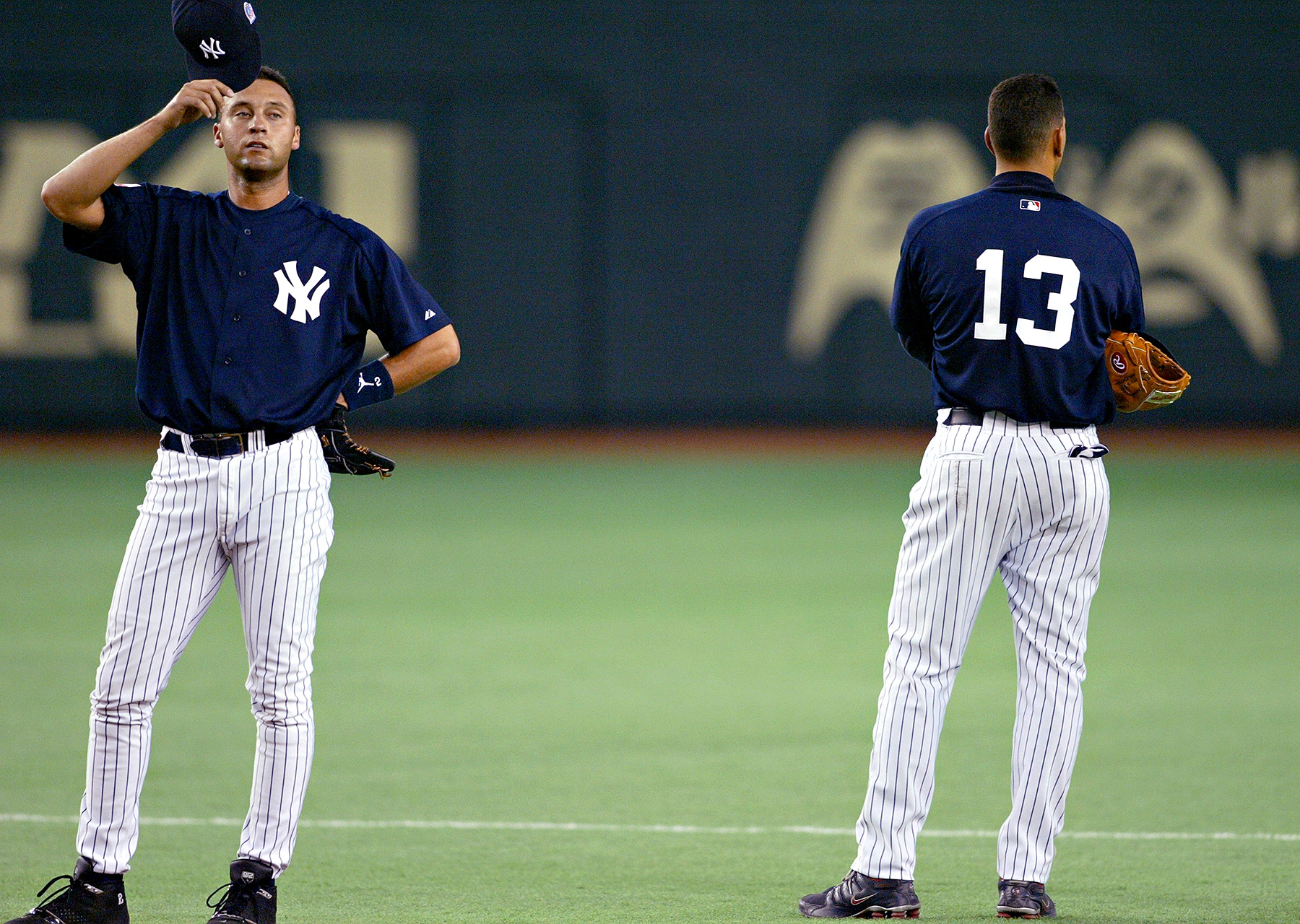 Jeter and Rodriguez