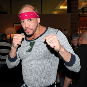 Tommy Morrison in April 2011 at an event in Parsippany, N.J.