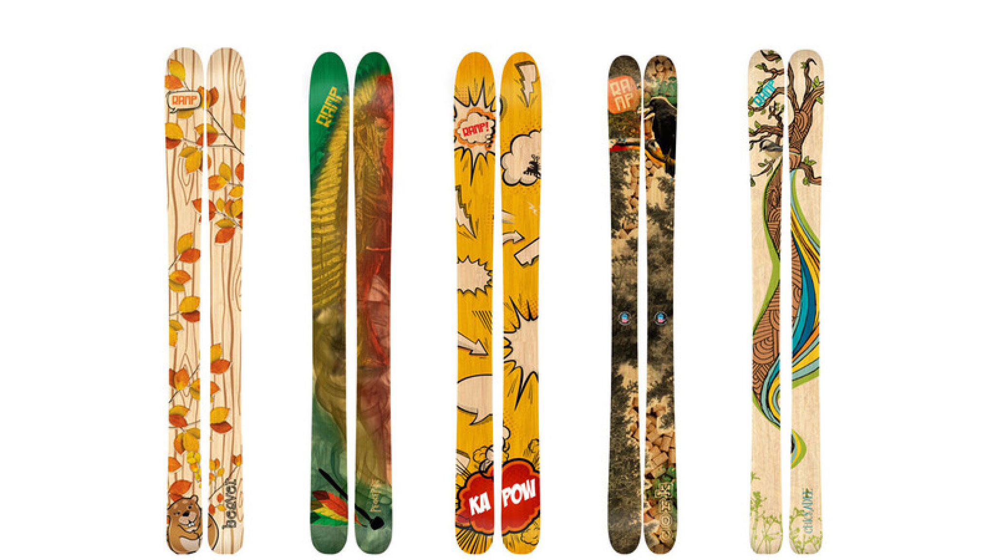 Ramp Skis -- Utah