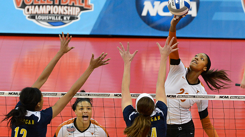 It took Bailey Webster time to get the hang of volleyball, but now the Texas outside hitter is one of the most dominant players in the U.S.