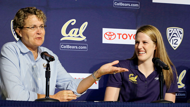 Missy Franklin, who won four gold medals and a bronze in the London  Games, now joins Teri McKeever's program at Cal.