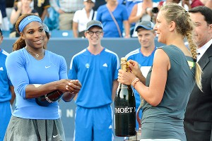Serena Williams and Victoria Azarenka