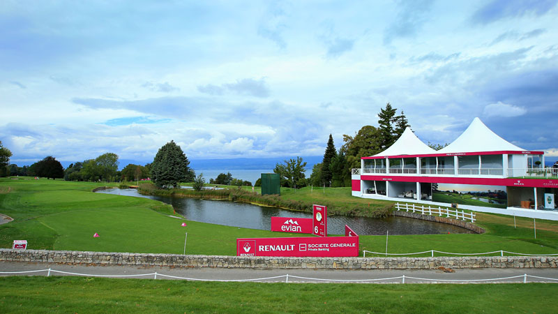 The Evian Resort Golf Club, site of the Evian Championship, has been on the playing calendar for just 13 years.