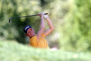 American Stacy Lewis is going for her fourth victory of 2013 and a share of the 3.25 million Evian Championship purse.