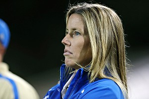 New UCLA coach Amanda Cromwell's challenge this season is to do more with more.
