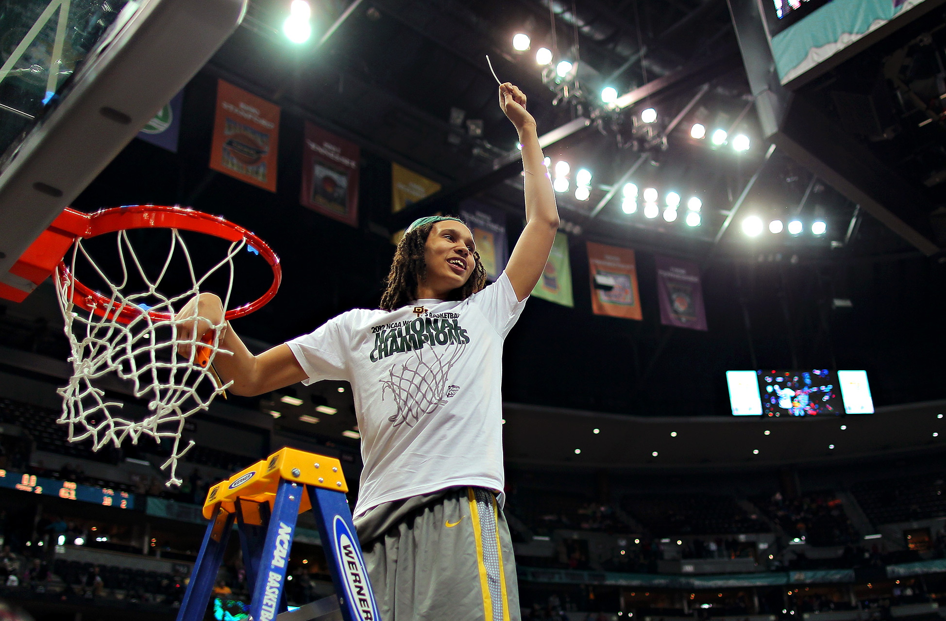 Brittney Griner lifted Baylor to the NCAA title as a junior in 2012 and had 26 points and 13 rebounds in the title game against Notre Dame.