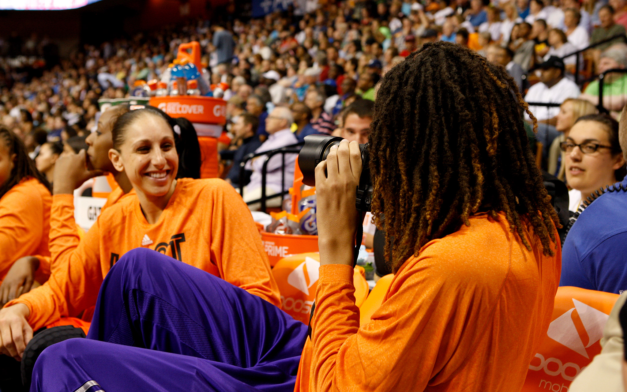 After sharing some light moments during the WNBA All-Star Game, Diana Taurasi and Brittney Griner are about to get serious as they try to win a third WNBA title for Phoenix.