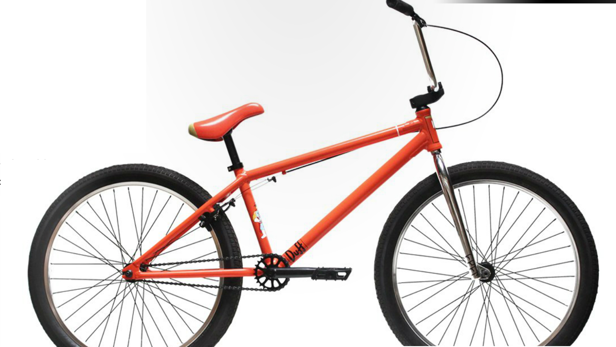 The new Cult/The Simpsons 24-inch collaboration cruiser debuts at Interbike 2013.