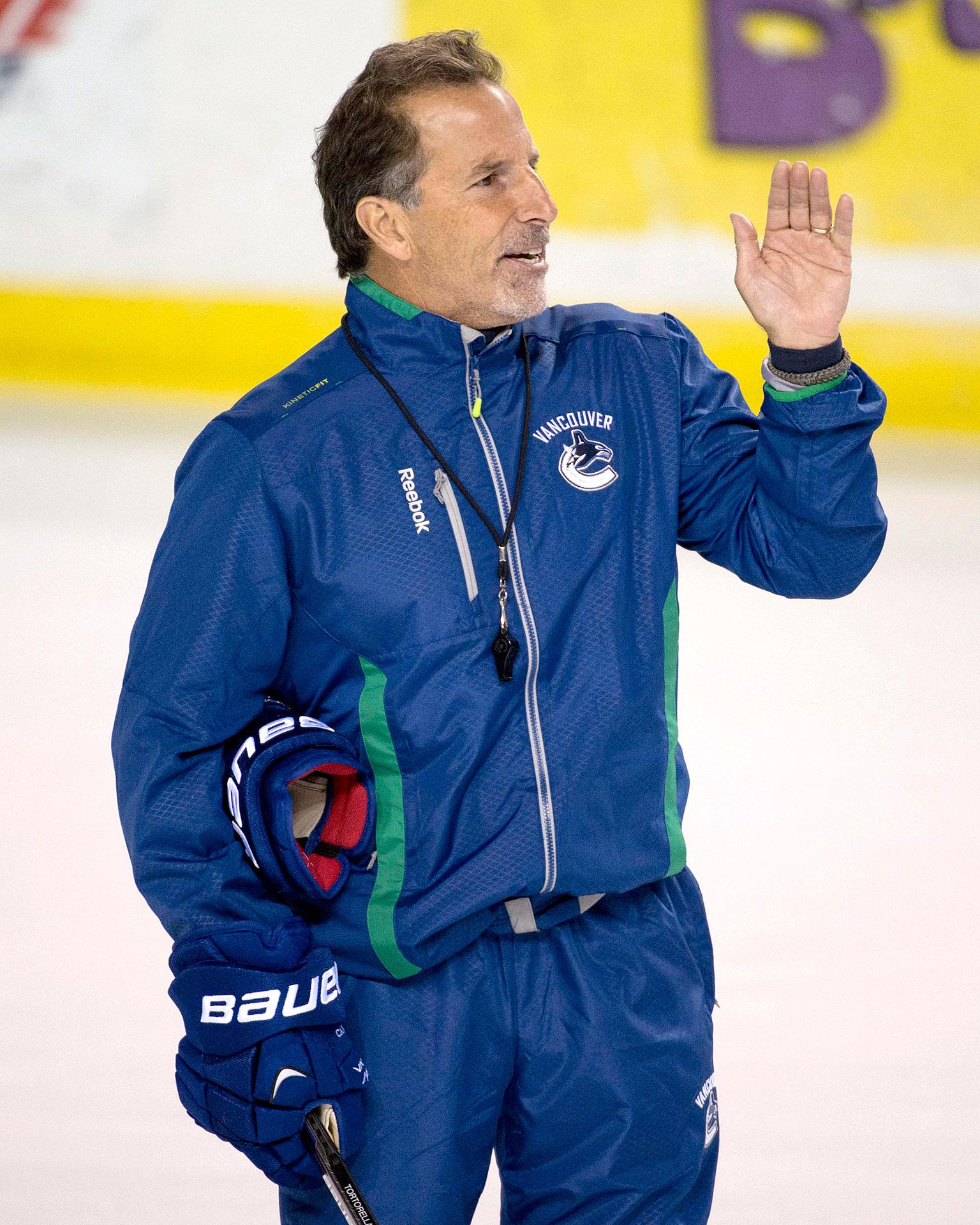 John Tortorella in Vancouver