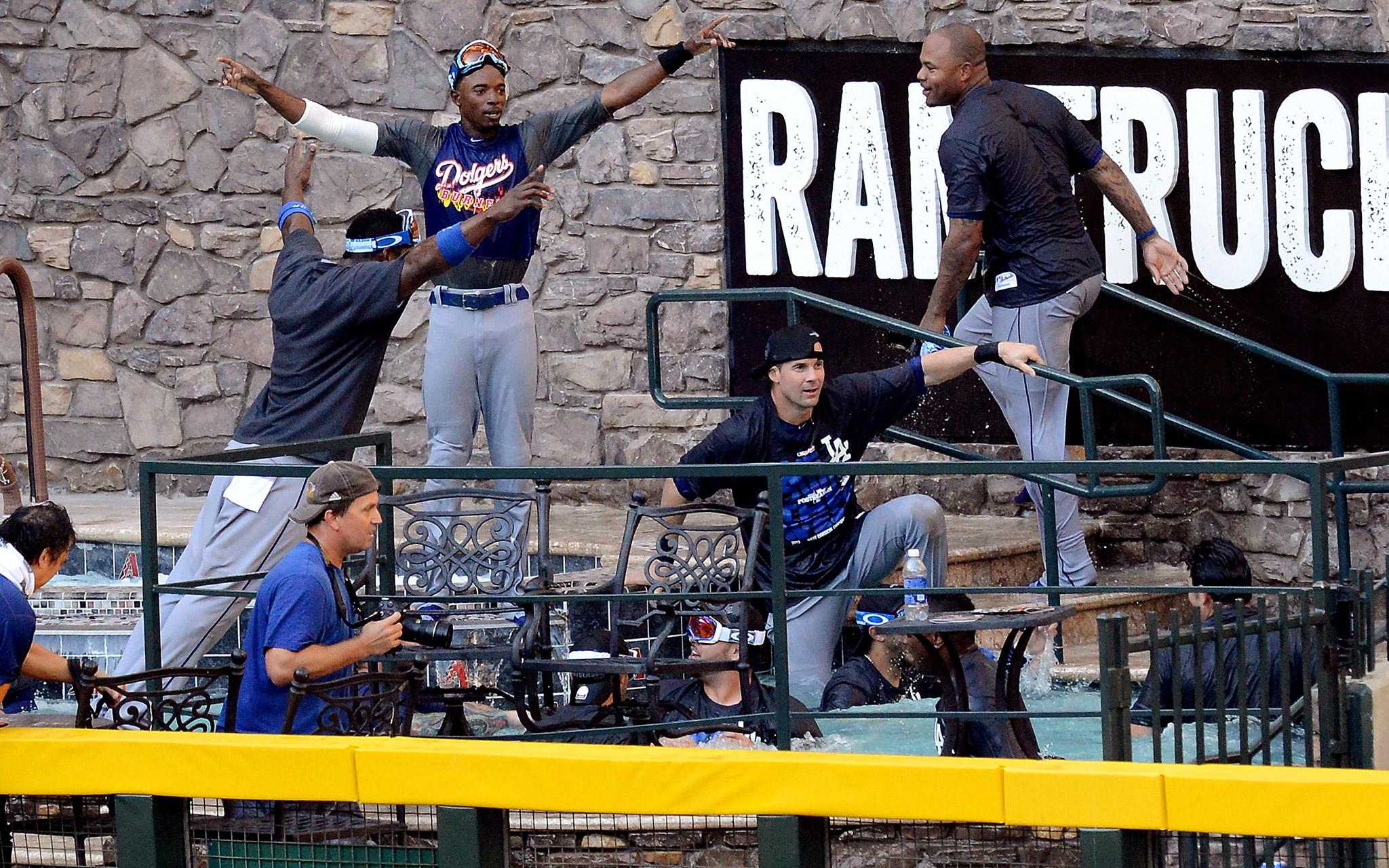Dodgers Celebration