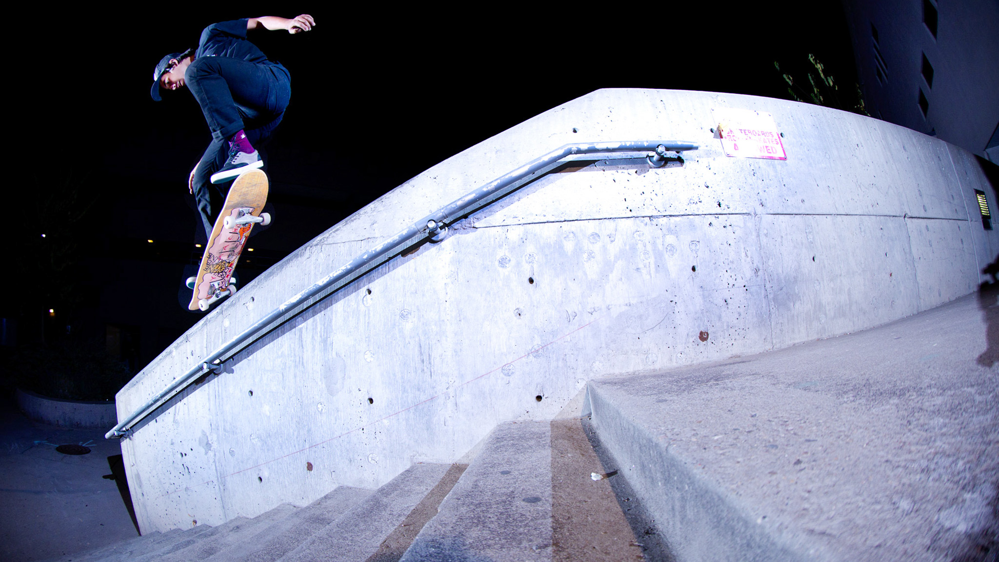 Jeremy Leabres snagged the first part in Emerica's MADE video with tricks like this kickflip krooks.