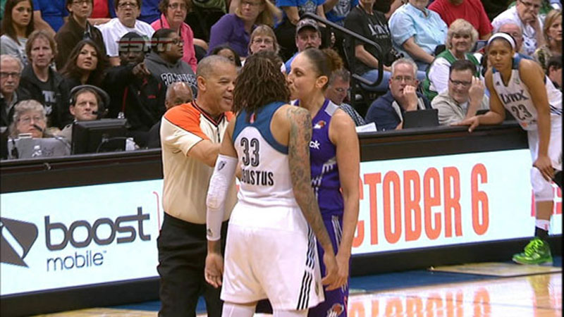 Thursdays in-game smooch between Diana Taurasi and Seimone Augustus dominated the watercooler talk Friday morning, prompting us to relive some of sports greatest kisses over the years. Here are some of our favorites.