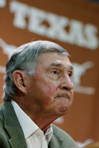 In 32 years of service, outgoing Texas athletic director DeLoss Dodds has turned the Longhorns brand into a money maker.