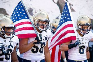 The budget impasse in Congress may force Army, Navy and Air Force to cancel their football games this weekend.