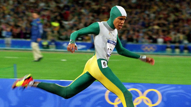 Cathy Freeman's 49.11-second run in the 400 meters was one of the lasting memories from the Sydney Olympics.