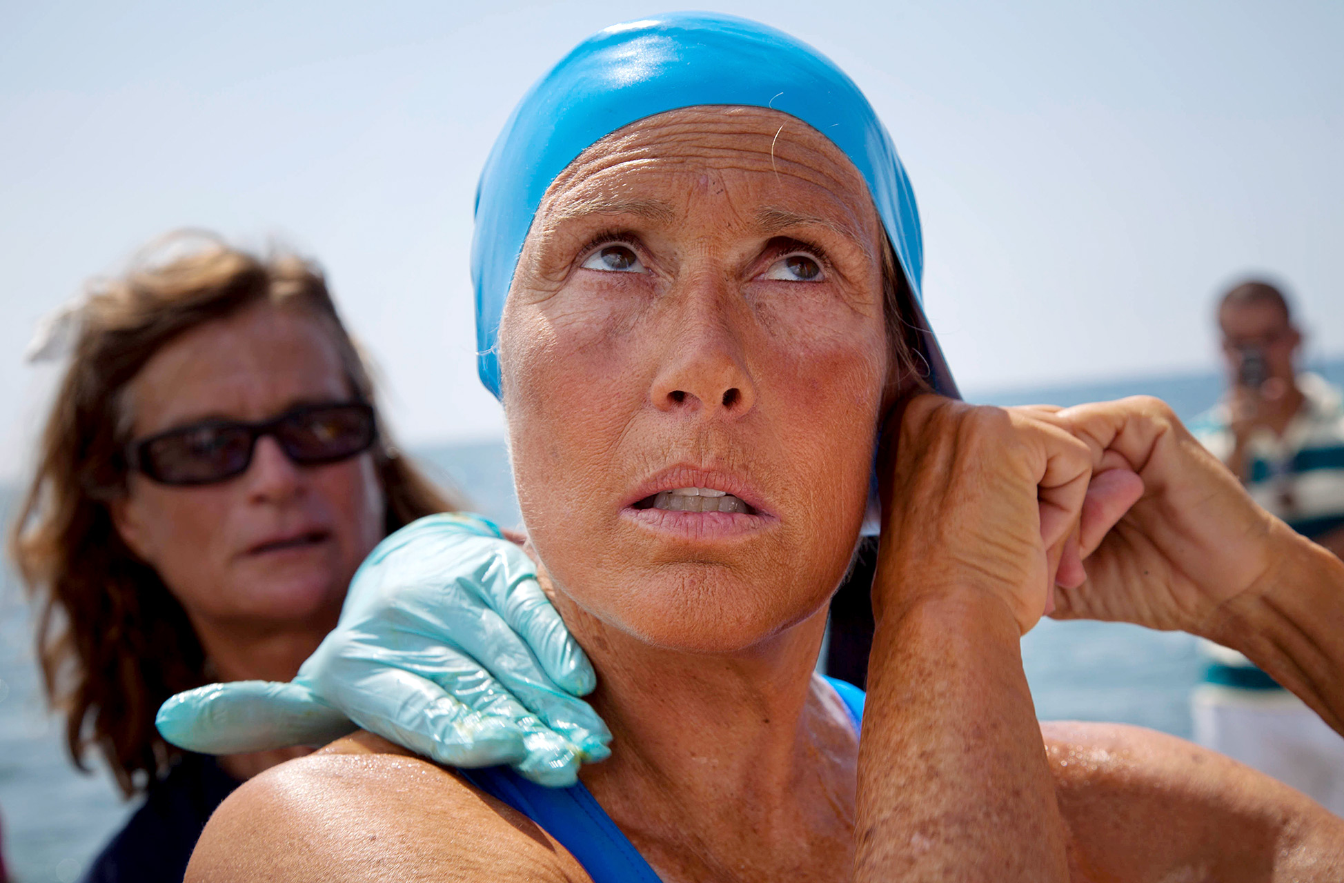 Despite four failed attempts, Diana Nyad said she never considered giving up on her dream of swimming from Cuba to Florida.