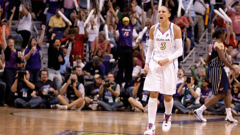 In honor of the WNBA's 15th season in 2011, Taurasi was named one of the league's 15 best players of all time, as determined by a vote by players, coaches, members of the media and fans. She and her fellow honorees were announced at halftime of the WNBA All-Star Game.