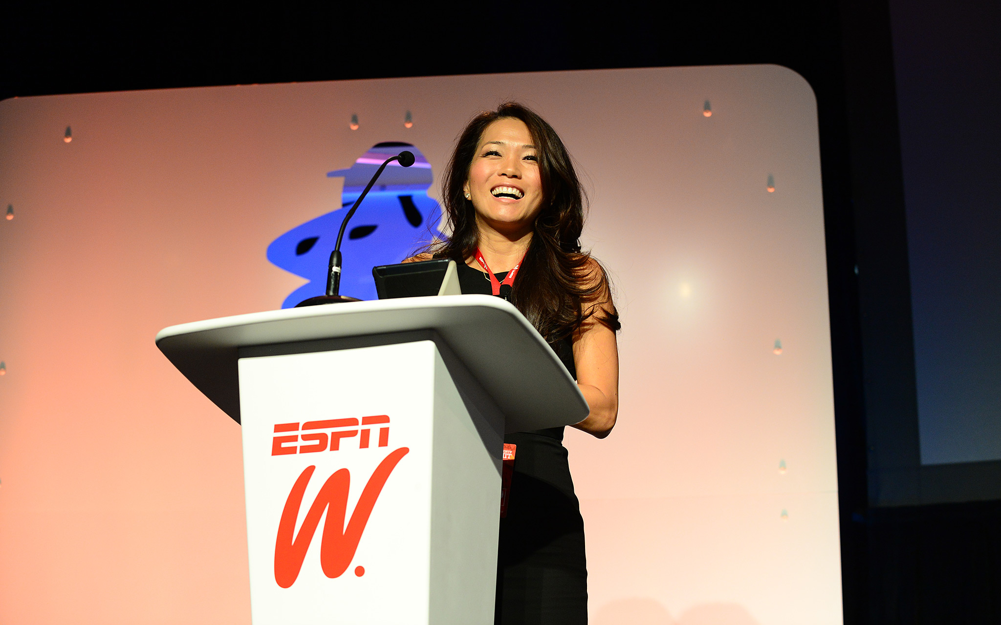 Keli Lee, executive vice president of casting for ABC, took part in one of the Summit's Power Talks and spoke about how the industry could create more opportunities for female athletes.