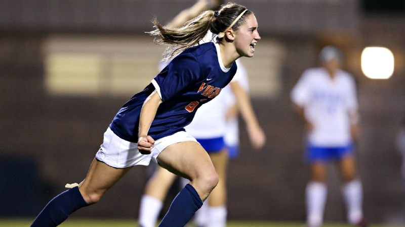 Morgan Brian leads No. 1 Virginia, which has just one College Cup appearance in school history, in 1991.