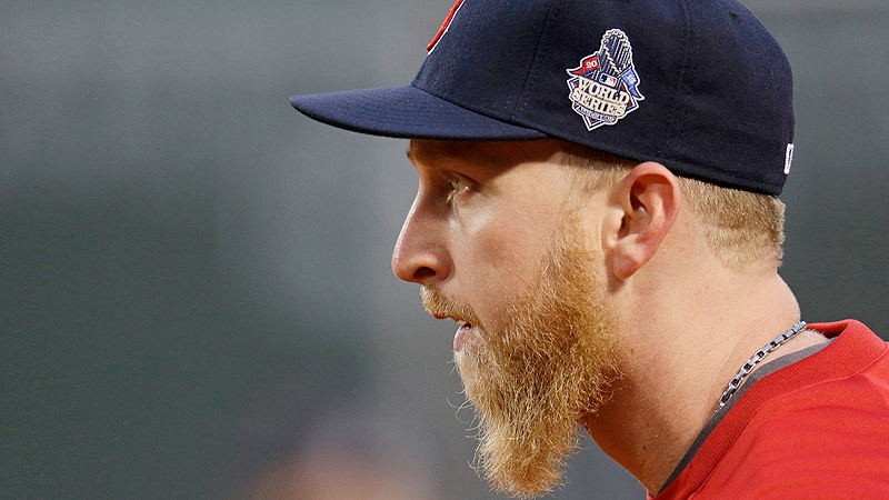 Boston Beards: Mike Carp